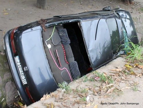 Kisangani : cinq morts dans un accident de circulation sur la route Bangboka