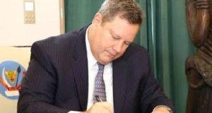 Le nouvel ambassadeur Mike Hammer prend officiellement ses fonctions en RDC