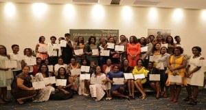 WEBE : 100 bénéficiaires gabonaises certifiées