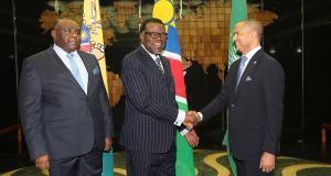 Bemba et Katumbi chez le président namibien avant le sommet de la SADC
