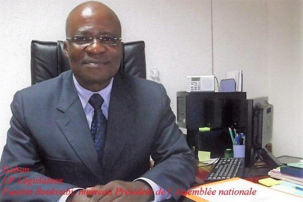 Gabon: Faustin Boukoubi,  nouveau président de l'Assemblée nationale