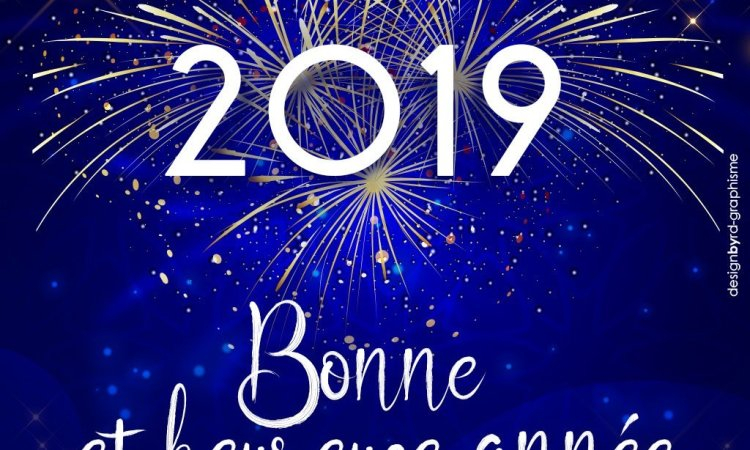 2b8c7570 3e2f 40cd a1e8 4415a8d2ed05 - Bonjour 2019 !
