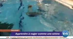 Apprendre à nager comme une sirène