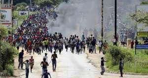 Des morts lors des manifestations contre la hausse des prix du carburant au Zimbabwe