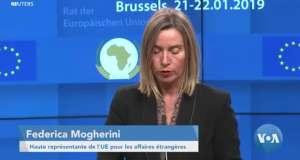L'UE prend note de l'élection de  Tshisekedi
