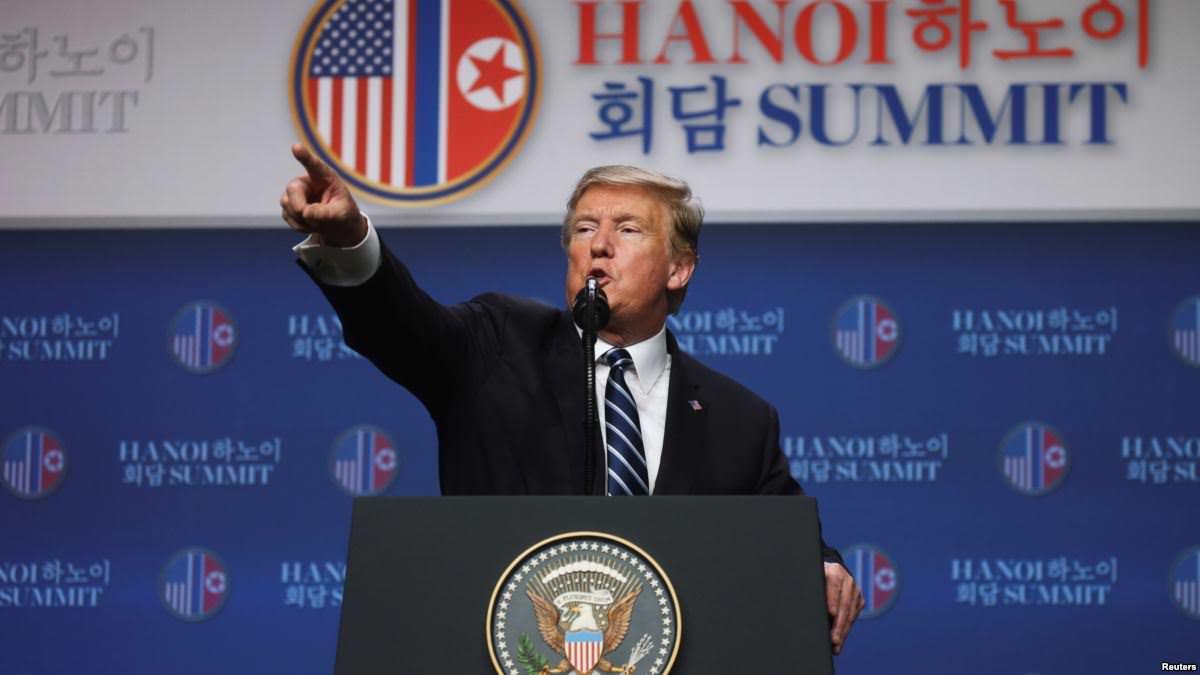 Sommet USA-CORÉE DU NORD:  Trump et Kim se séparent à Hanoï sur un échec