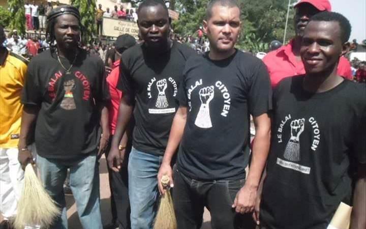 Fespaco: Smockey, porte-parole du mouvement Balai citoyen et disciple de Thomas Sankara