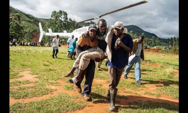 052144 01 02 1 - Cyclone enAfriqueaustrale: les secours débordés par l'ampleur des dégâts