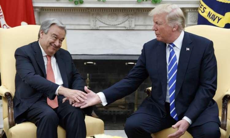 Guterres à Washington pour des discussions budgétaires épineuses