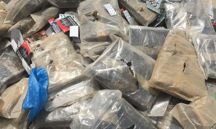 Bissau: incinération d'une saisie record de 800 kg de cocaïne