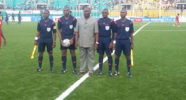 Gabon National Foot1 : Béranger Antsaraga un arbitre au service de Lozo Sport ?