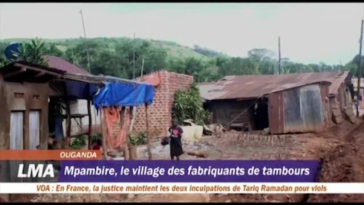 A la découverte de Mpambire, le village ougandais où l'on fabrique des tambours