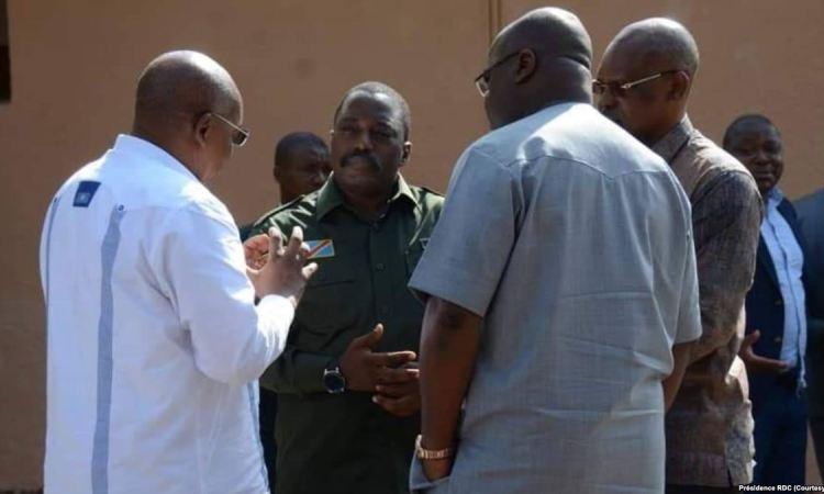 """Les pro-Kabila qualifient d'""""attaques gratuites"""" des déclarations de Tshisekedi aux USA"""