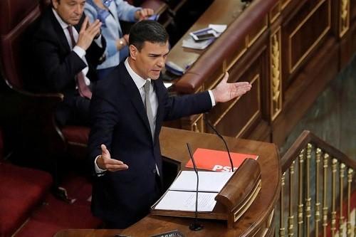 pedro sanchez 20190419 - Espagne : le gouvernement veut taxer les banques pour financer les retraites [Vidéo]