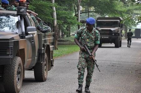 La Côte d'Ivoire qui est touchée par des rumeurs de coup d'État militaire