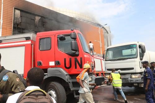 RDC : un incendie s'est déclaré dans une usine de fabrication des allumettes à Kinshasa