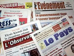 LIBERTE DE LA PRESSE. : Le Burkina montre la voie à suivre