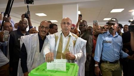 000 1hq7pw 0 - Mauritanie : Ghazouani, le candidat du pouvoir, déclaré vainqueur au premier