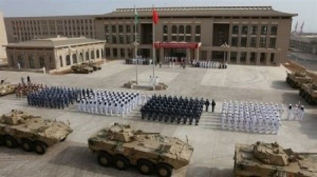 La base chinoise à Djibouti.