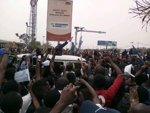 RDC : Jean-Pierre Bemba s'engage à poursuivre le combat pour la vérité des urnes
