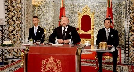 Mohammed VI reconnaît son échec lors d'un discours à la nation