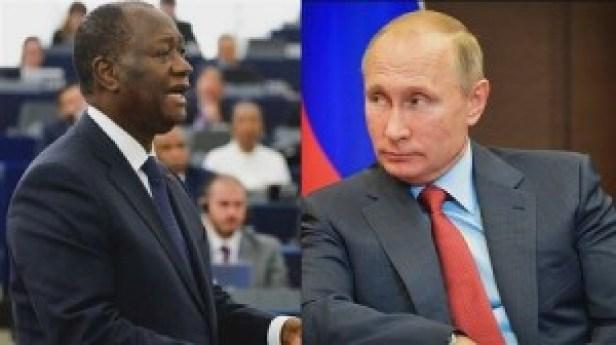 L'offensive russe contre Ouattara