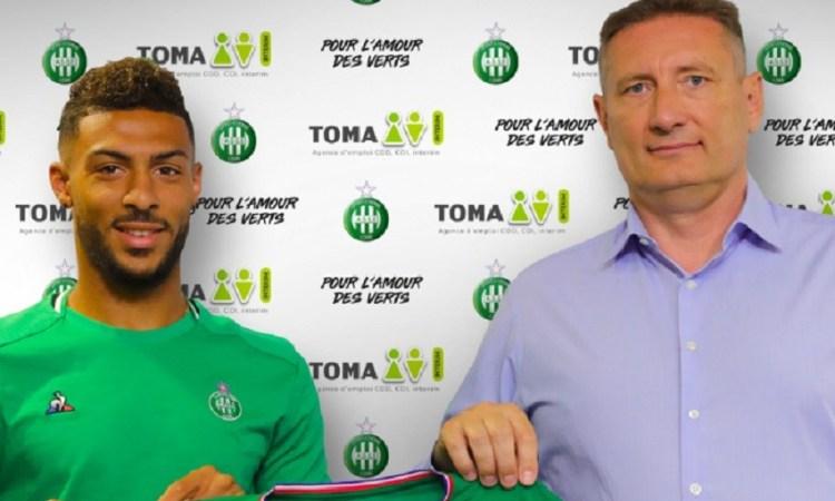 Denis Bouanga signe à Saint-Étienne