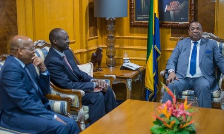 Gabon : Echange entre Nkoghe Bekale et Mahamat Tolli