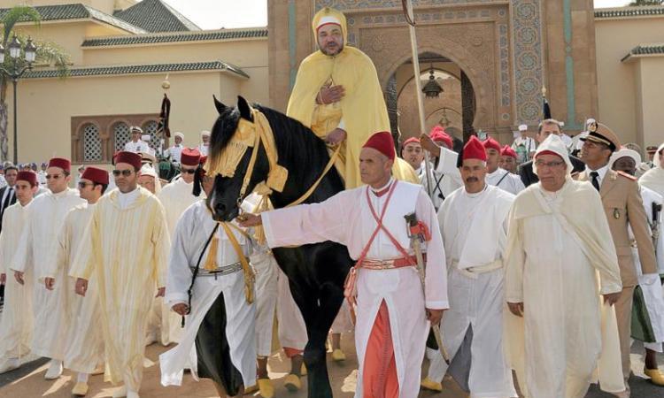 Maroc: grand rituel d'allégeance pour les 20 ans de règne du roi