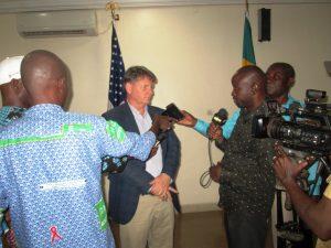 L'ambassadeur des Etats Unis d'Amérique enmission économique à Sikasso