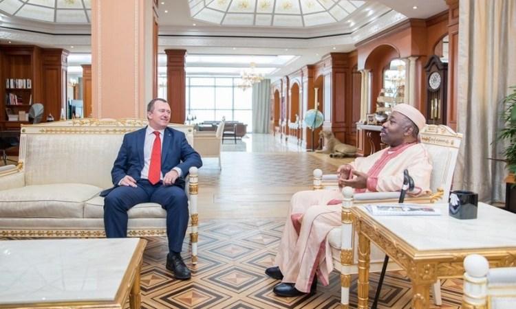 Gabon : Plusieurs personnalités chez Ali Bongo Ondimba