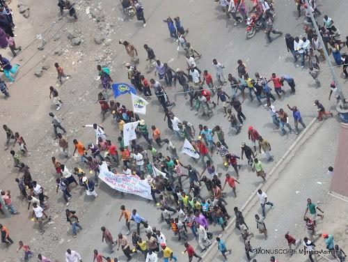 Manifestation de Lamuka à Goma : un manifestant tué par balle