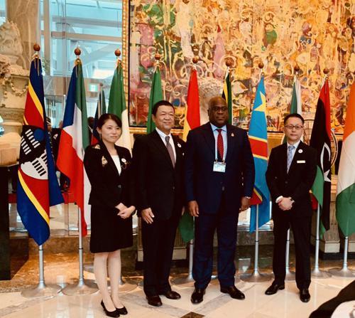 A Yokohama, Félix Tshisekedi a échangé avec le chef de la JICA sur les investissements en RDC
