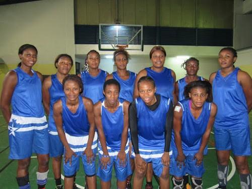 L'équipe nationale de Basketball Dame de la RDC. Radio Okapi/Photo Enoc Matondo