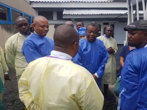 Dr Muyembe : « Si tout va bien, dans trois ou quatre mois, on ne parlera plus de l'épidémie d'Ebola dans le Nord-Kivu et en Ituri »