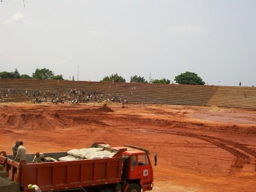 Foot- RDC : détérioration du stade Kashala Bonzola de Mbuji-Mayi
