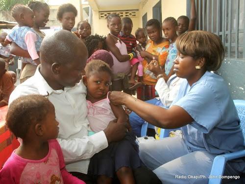 Kasaï : plus de 51.000 enfants ciblés pour la campagne de vaccination contre la rougeole à Mutena