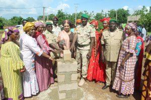 Kati Sonarem: Lancement des travaux d'un centre multifonctionnel pour les femmes des camps