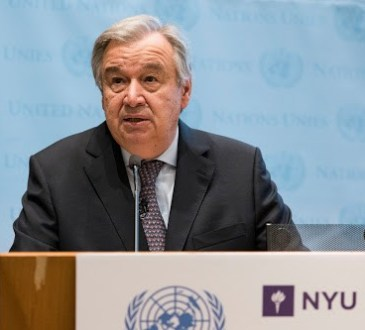 La MONUSCO confirme la visite d'António Guterres en RDC