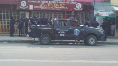 RDC : les forces de l'ordre étouffent une marche de l'AFDC-A à Kinshasa