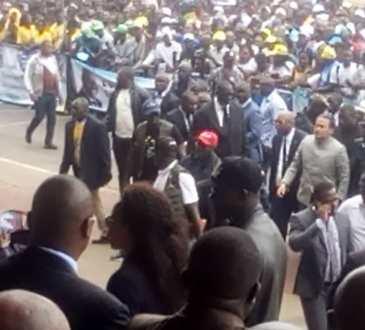Gabon/Politique/TOURNÉE DE BRICE LACCRUCHE ALIHANGA, ETAPE DE PORT-GENTIL, émissaire d'Ali BONGO ONDIMBA