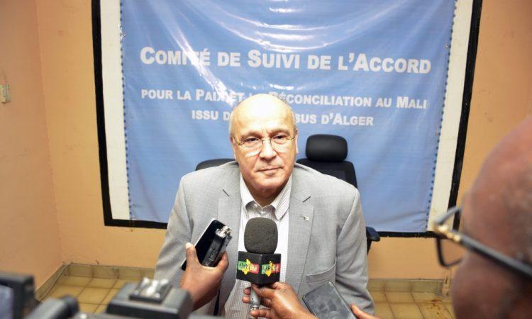 Ahmed Boutache, nouvel ambassadeur d'Algérie en Italie
