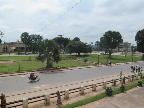 Une vue sur la principale avenue de Kananga (Décembre 2018). Radio Okapi/Photo Joël Bofengo.