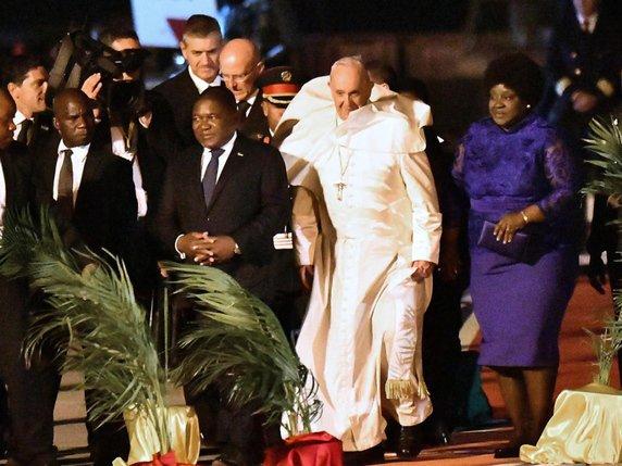 Le pape Francois au chevet des desherites du Mozambique et - Le pape François au chevet des déshérités du Mozambique et Madagascar