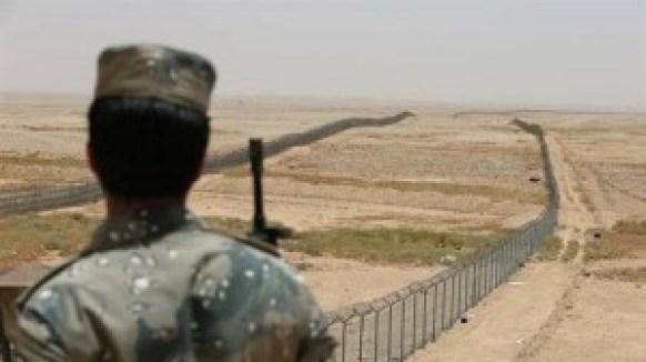La frontière entre l'Irak et l'Arabie saoudite. ©Reuters