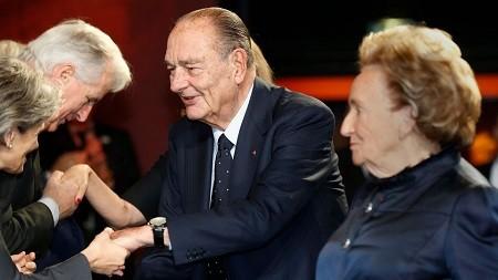 L'ancien chef de l'Etat français Jacques Chirac est mort