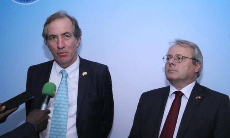 L'Émissaire français pour la région du Sahel séjourne au Mali