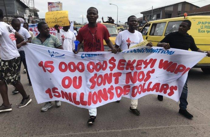 Marche anti-corruption en RDC: JJ Lumumba espère «le début d'un grand processus»