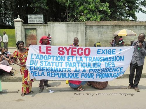 Nord-Kivu : les enseignants des écoles publiques de Goma durcissent leur mouvement de grève