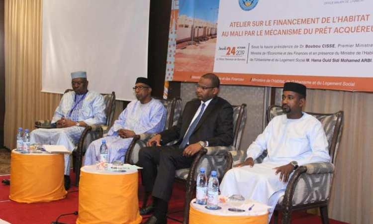 Ouverture d'un atelier sur le financement du logement au Mali par le mécanisme de prêt acquéreur